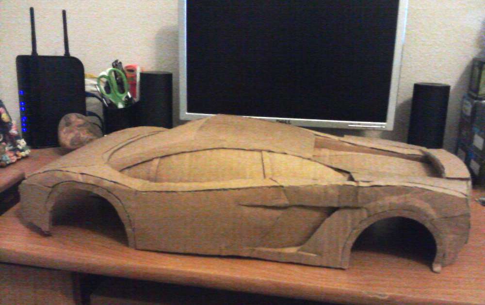 This Day Was The Only Day I Actually Took Pictures Of The Car Before It Was  Completed. Unfortunately, There Are No Pictures Showing The Previous Steps  In ...